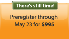 Preregister by May 23